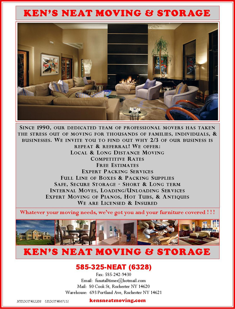 Ken's Neat Moving and Storage